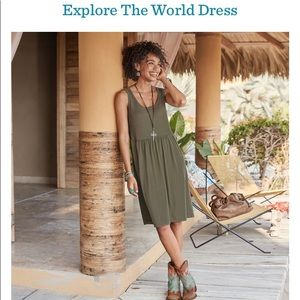 New Sundance Explore The World Sweater Dress L